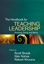 Handbook For Teaching leadership, 2011